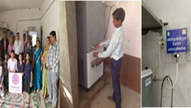Chameli Devi Group of Institutions, Double UV filter Water Purifier